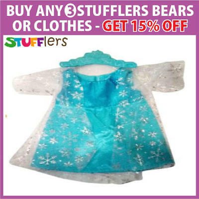 FROZEN Elsa Clothing Outfit by Stufflers – Will fit on a Build a bear