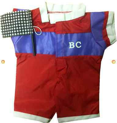 Race Car Driver Clothing Outfit by Stufflers – Will fit on a Build a bear
