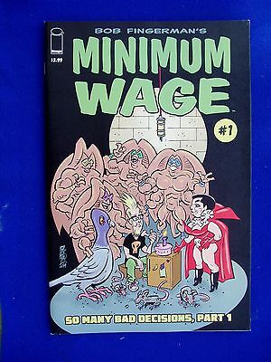 Minimum Wage So Many Bad Decisions 1 to 4 (of 6), Bob Fingerman. VFN/NM.