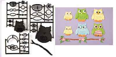 Patchwork Cutters OWL - Cake Decorating Embosser Cutter