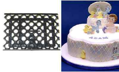 Patchwork Cutters QUILTING EMBOSSER - Cake Decorating Embosser Cutter
