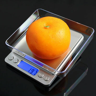 3KG/0.1G AU Kitchen Digital Scale LCD Electronic Balance Food Weight Scales New