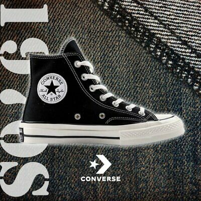 79eca2e648c Converse Chuck Taylor All Star Hi 1970s 70s Black Label First String 162050C