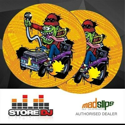 Madslips DJ Big Daddy Slipmats (Pair) by Richard Warwick