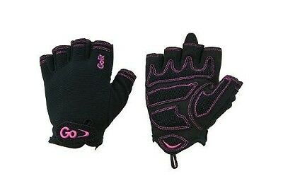 Women's Cross Training Glove With Etched Synthetic Leather Palm by GoFit