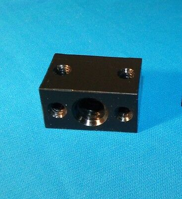 1/2-10 ACME DELRIN NUT BLOCK RH for acme threaded rod 2-start CNC 3d printer