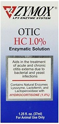 Pet King Brands Pet King Brand Zymox Otic Enzymatic Solution for Pet Ears, 37ml