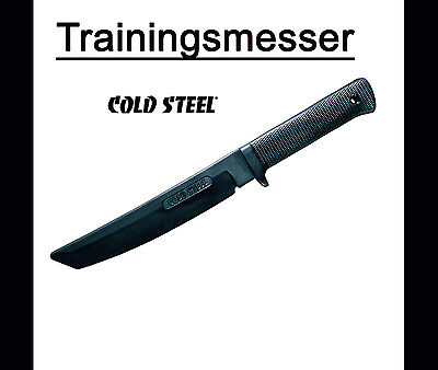 Cold Steel - Recon Tanto Messer Trainingsmesser, stabile Gummiausführung