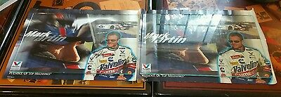 """Set of 2 Mark Martin Posters 1 with Autograph &  COA 19""""x25"""""""