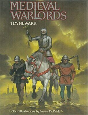 Medieval Warlords by Newark, Tim Hardback Book The Cheap Fast Free Post