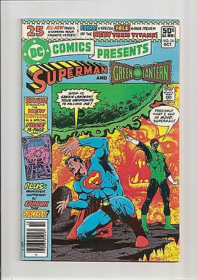 Dc Comics Presents #26 Nm- 9.2 1St Appearance Of The New Teen Titans! 1980