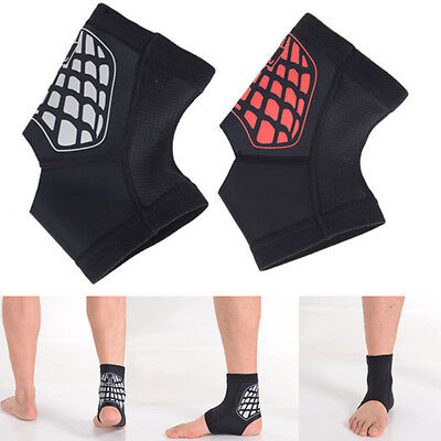 Authentic Ankle Brace Support Pads Guard MMA Foot Muay Thai Boxing Gym Sports
