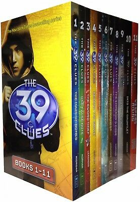The 39 Clues Series 1 - 11 Books Collection Box Set plus 66 Digital Game Cards