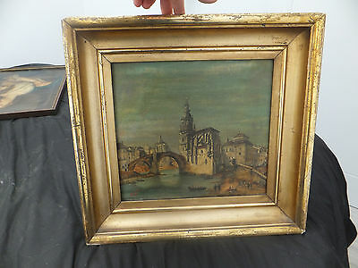 Fine 19th century oil on canvas, sighed E Turture & framed