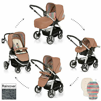 New Hauck Toast Lacrosse Shop N Drive Travel System Pushchair Baby Car Seat