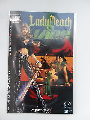 1x Comic Chaos! Chrossover #8: Lady Death & Jade Zustand 1