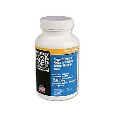 Miracle Sealants Water Ring and Etch Mark Remover 4oz