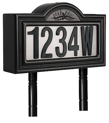 Pine Top Sales Solar Powered Address Sign