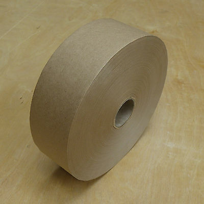 Gummed tape 48mm x 200M 70gsm. Artist paper stretching. Discount on extra roll.