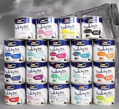 Dulux Paints Made By Me Gloss 250ml Furniture ,Craft ,Makeover,Upcycle