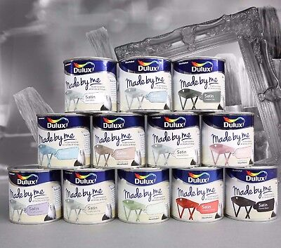 Dulux Paints Made By Me Satin 250ml Furniture ,Craft ,Upcycle,Makeover