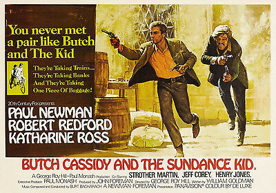 """""""Butch Cassidy & The Sundance Kid""""..Classic Movie Poster A1A2A3A4Sizes"""