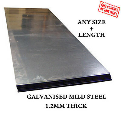 1.2 Mm Mild Steel Sheets Plate Galvanised Metal Car Repair Welding Material