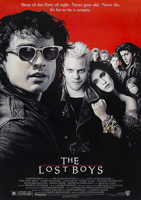 The Lost Boys Poster Print Borderless Stunning Vibrant Sizes A1 A2 A3 A4