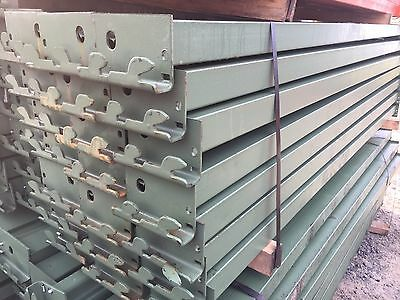 "Pallet Rack 5"" x 96"" Keystone Warehouse Racking Rails/Beam Shelving"