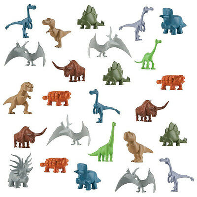 Disney Pixar The Good Dinosaur - World of Dinosaurs - 25 Mini Characters in Tube
