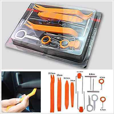 12 pcs Car SUV Radio Stereo Door Trim Dash Panel Install Removal Pry Tools Kit