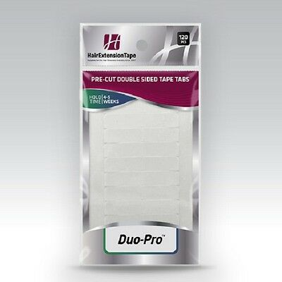 Walker Duo-Pro Human Hair Extension Tape Tabs - 120 Pcs - Strong Made In Usa