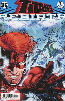 Titans Rebirth #1 2016 Near Mint Dc Comics 6/15/16