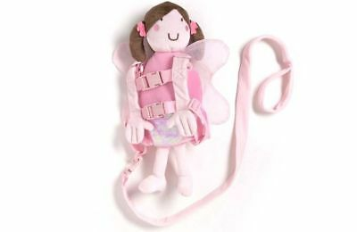 Playette Tether/Safe Walking Harness Buddy Pink Fairy/Kids/Toddler/Backpack