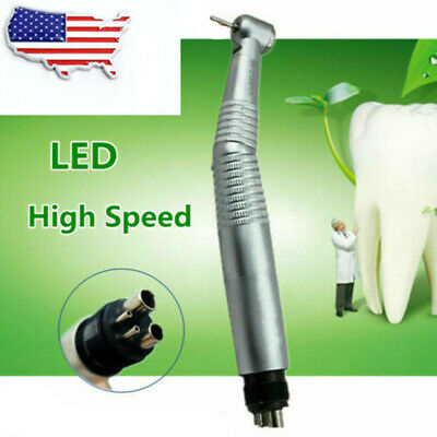 KAVO STYLE Dental High Speed Handpiece E-generator Fiber Optic LED Push Button