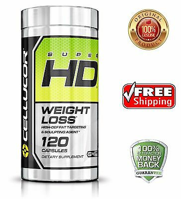 Cellucor Super HD120 Fat Burner Weight Loss High Def  FREE SHIPPING Super HD 120