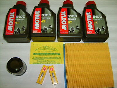 Kit Tagliando Motul 5100 15W-50 Ducati Monster 600/750/900