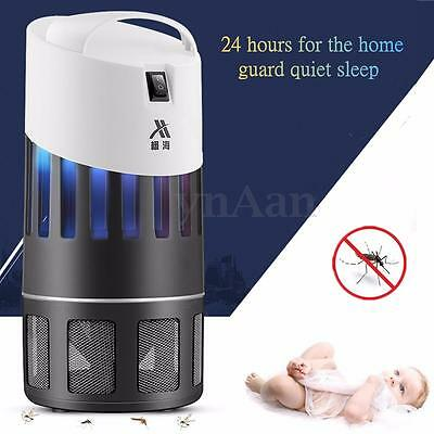 220V Electric Night Light Mosquito Killer Fly Bug Insect Pest Zapper Trap Lamp