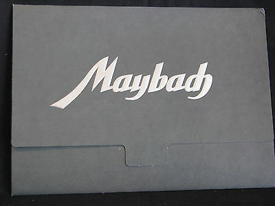 Brochure Maybach Werbemappe Typ SW38 - 140 PS - 3,8 Liter + 7 prints (JS)