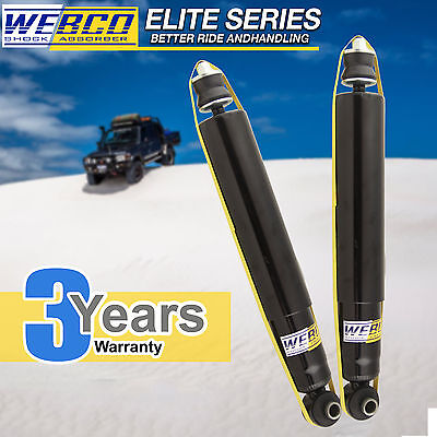 2 Rear WEBCO Elite Shock Absorbers Fit HOLDEN CAPTIVA CG FWD Wagon 06-ON