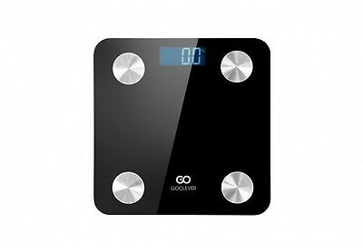 GoClever 8in1 Smart Scale, Large Backlit Screen, App Control, Android and iOS