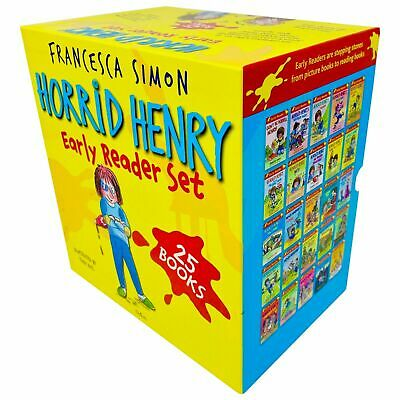 Horrid Henry The Complete Story Collection 20 Books Box Set Pack Francesca Simon