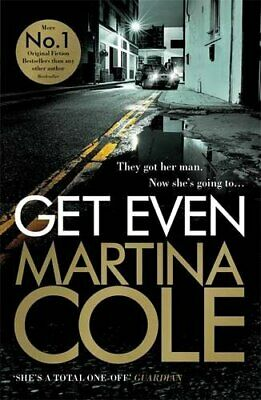 Get Even, Cole, Martina Book