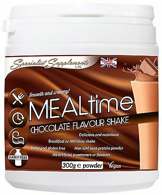 Mealtime Chocolate Meal Replacement Shake Weight Loss Diet Protein No Dairy