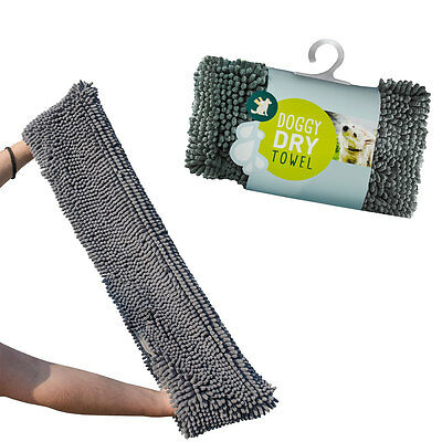 Doggy Dry Pet Towel Mikrofaser Hundehandtuch Handtuch Badetuch - Extra saugfähig