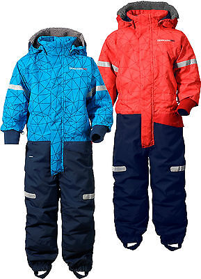 Didriksons Yori Printed Kids Winter Coverall Waterproof Insulated Snowsuit