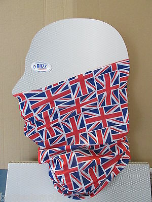 Vespa Neck Head Warmer Tube Snood Distressed Union Jack Design FREE POSTAGE