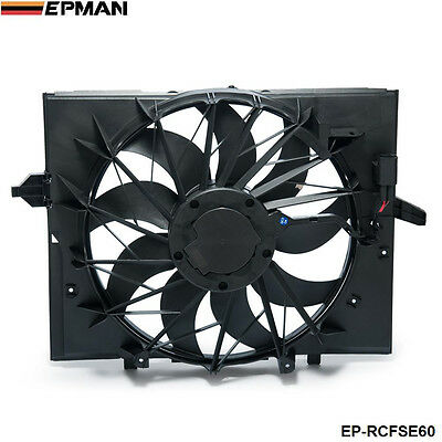 EPMAN Sport Radiator Cooling Fan Brushless Motor 17427543282 For BMW 5 Series
