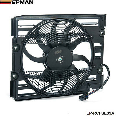 EPMAN A/C Ac Radiator Condenser Cooling Fan  For BMW 5 Series E39 528 540 I 97 9