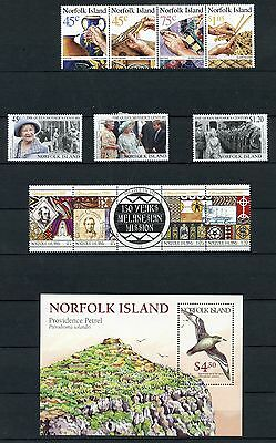 Stamp / Timbre British Colonies / Norfolk Island / Lot Neuf Charniere Cote + 48€